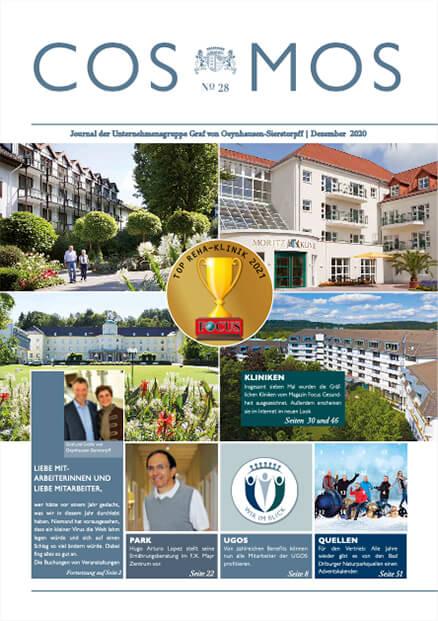Cover des aktuellen Unternehmensjournals COSMOS