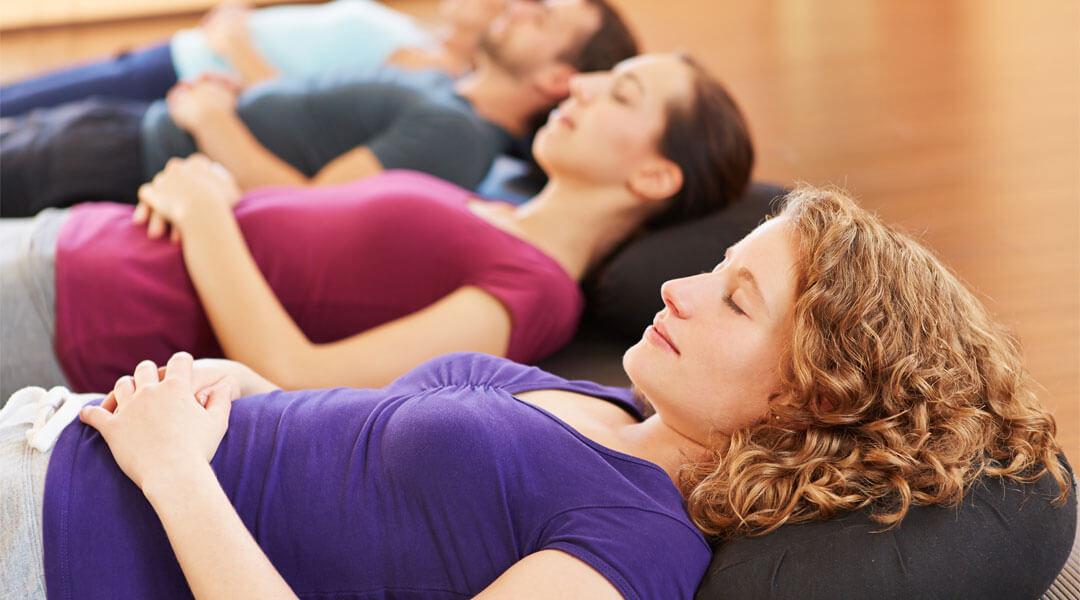 Entspannung in der Entspannungstherapie