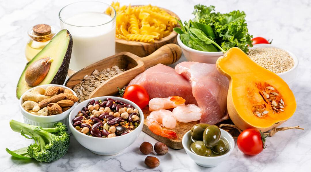 Gesunde Lebensmittel in der Ernährungsberatung