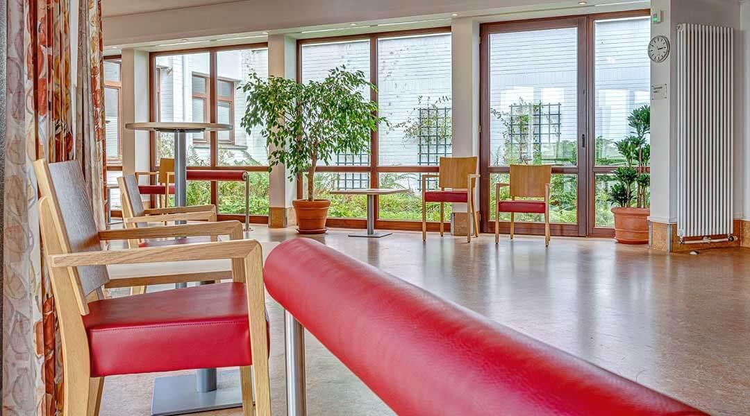 Wartebereich der Physiotherapie