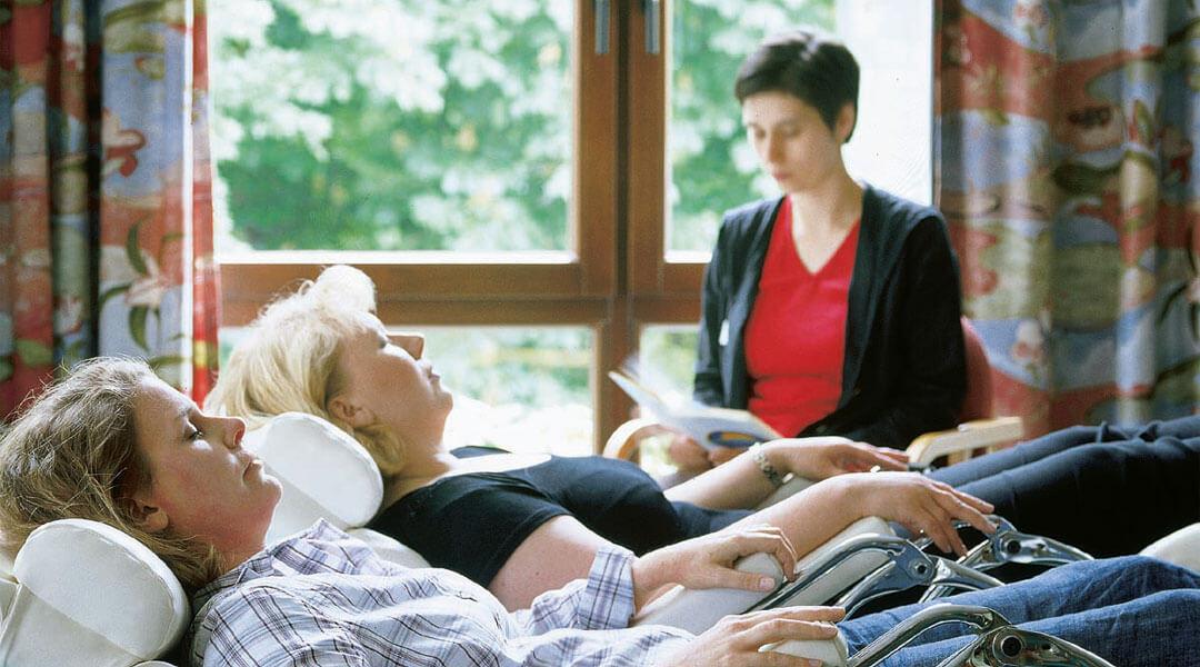 Psychologie begleitendes Entspannungstraining und Abbau von Stress